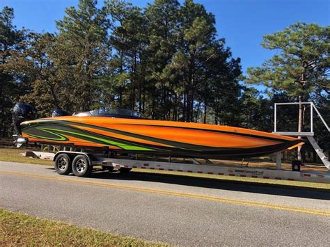 2018 Fountain 32 Thunder Cat Racing/High Performance for