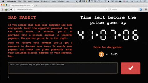 Bad Rabbit Ransomware Attack Is On The Rise — Here's What