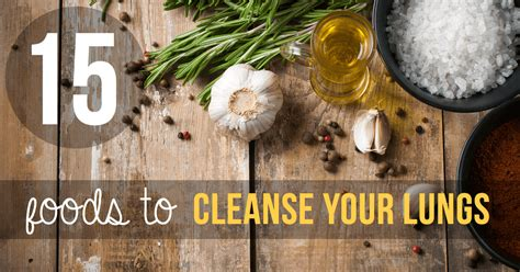 Best 15 Foods to cleanse your Lungs