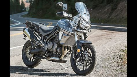 2018 new Triumph Tiger 800 XC & XR action photos - YouTube