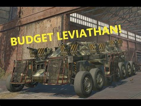 Crossout Lets Build! Budget Leviathan! - YouTube
