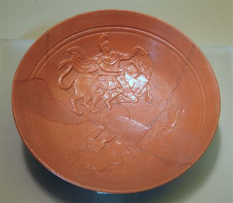 CIMRM 207 - Red-ware plate