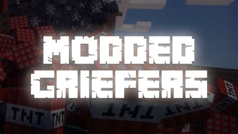 Modded Griefers [MineCraft Song Parody] - YouTube