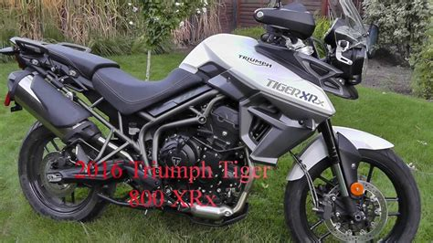 2016 Triumph Tiger 800 XRx in-depth Review - YouTube