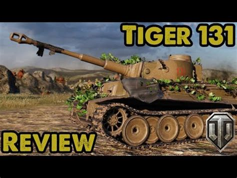Tiger 131 arrives in World of Tanks! Review & Gameplay