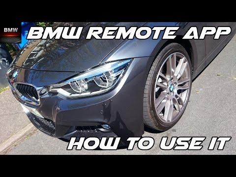Video: The BMW you can drive with your key and other