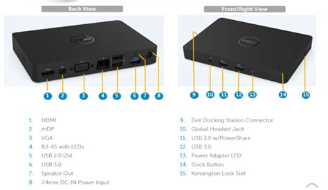 How To Connect Two Monitors A Dell Wd15 Docking Station