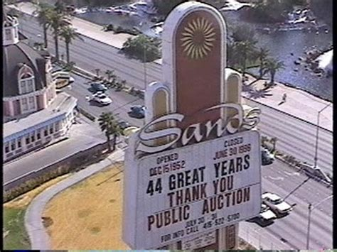 The Sands Hotel and Casino - Auction Day Walk Thru 1996