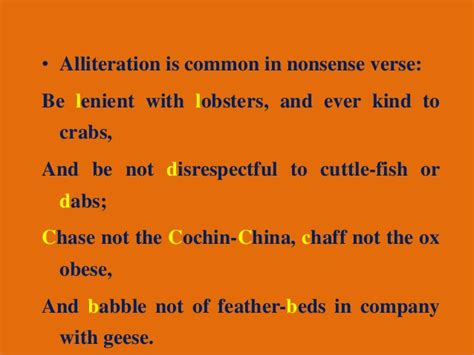 Alliteration as a stylistic device