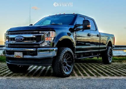 2020 Ford F-250 Super Duty Fuel Contra ReadyLIFT Leveling