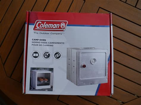 Coleman Camping Backofen mit Thermometer