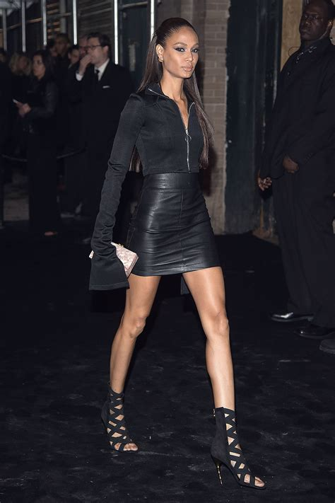 Joan Smalls attends 'Manus x Machina: Fashion in an Age of