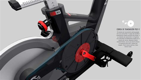 Tomahawk IC4 Bike Spinning ICG by Life Fitness