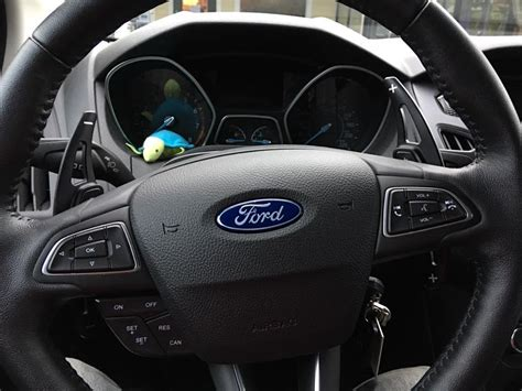 Alienxpress alloy paddle shifter add-ons - Ford Focus