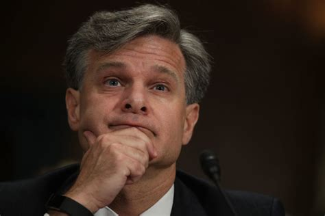 Wray Will Reportedly Stick Around For Biden's Term … If