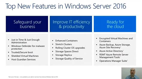 Windows Server 2016 in 10 Minutes | OEMTV | Channel 9