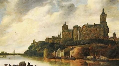 Schwanenburg Castle, painted in the the early 1600's