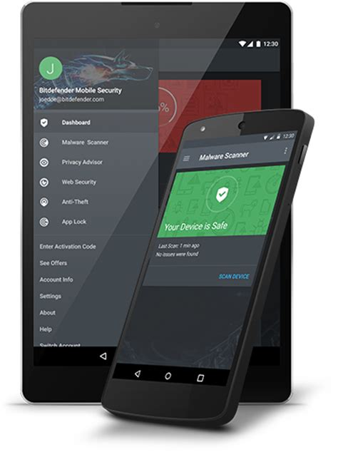 Bitdefender Mobile Security - Antivirus for Android Devices