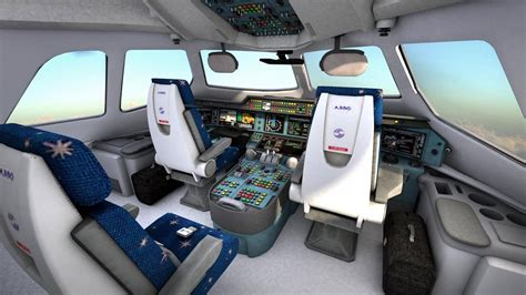 Airbus A330-300 with interior
