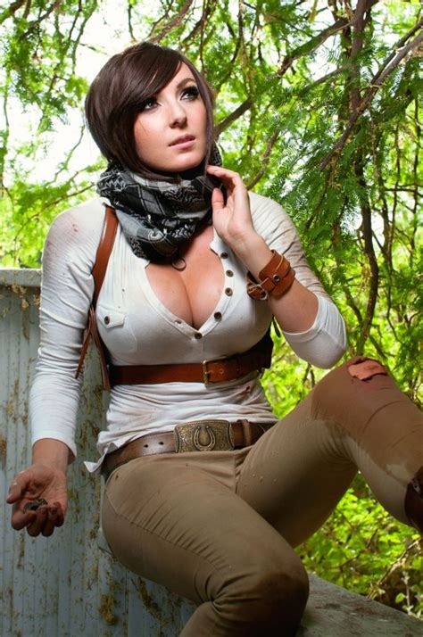 Stunning Uncharted 4 Cosplay from Jessica Nigri shows Lady