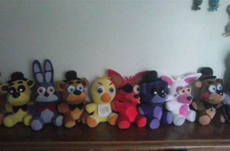 FNAF Funko Plushie Collection Complete (maybe) by