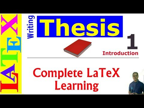 Microtype - Thesis in LaTeX