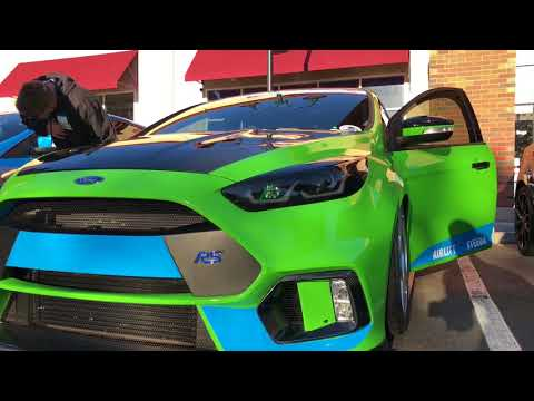 Ford Focus RS, ST get tricked-out for 2017 SEMA Show