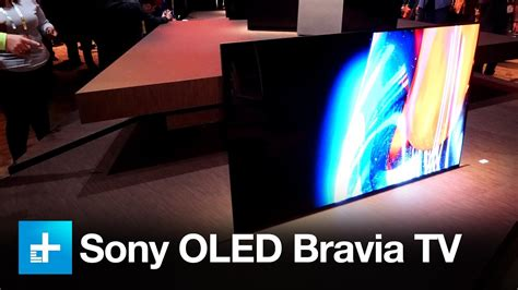 Sony XBR-A1E Bravia OLED - Hands on at CES 2017 - YouTube