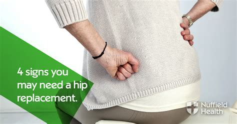 4 signs you need a hip replacement   Nuffield Health