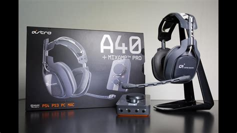 NEW Astro A40 2015 Edition MIC Test on PS4 - YouTube