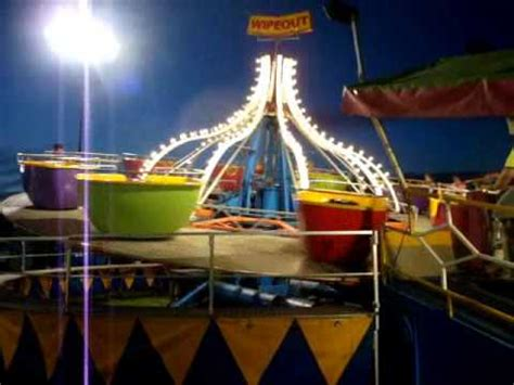Bell's Amusements Hrubetz Tip Top - Wipeout - YouTube