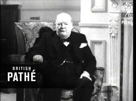 Interview With The Rt Hon Winston Churchill Aka Election