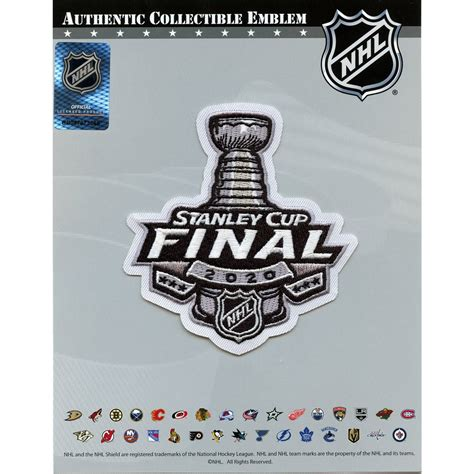 Official 2020 NHL Stanley Cup Final Jersey Patch