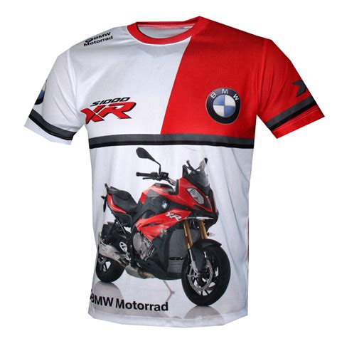 BMW S 1000 XR t-shirt with logo and all-over printed