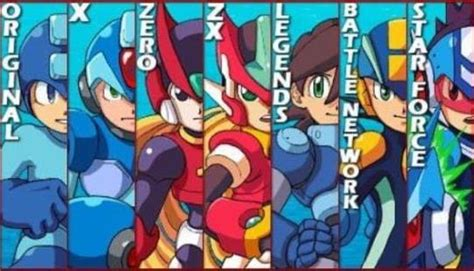These Mega Man Games Need the Z/ZX Legacy Collection