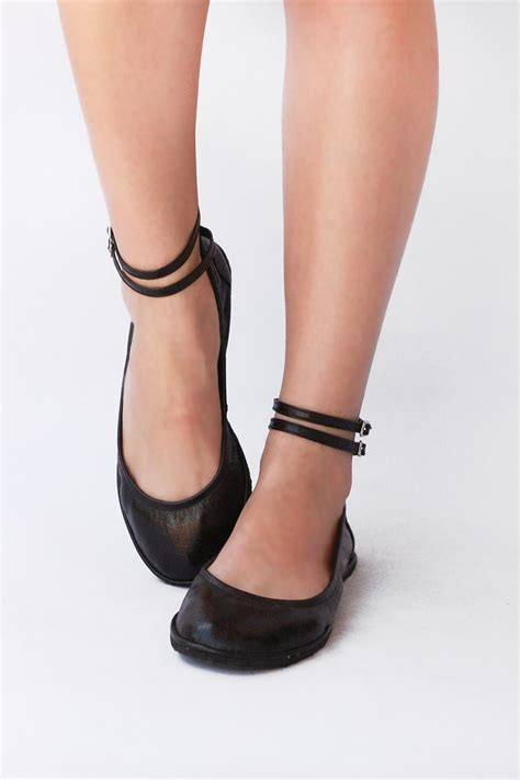 The Drifter Leather handmade shoes — Ballet flats - Two