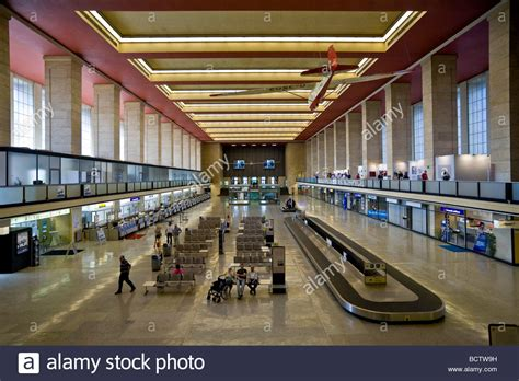 Tempelhof Airport, interior view, in last year in which