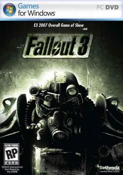 Buy Fallout 3 Pc Game Cd Key Online - €6